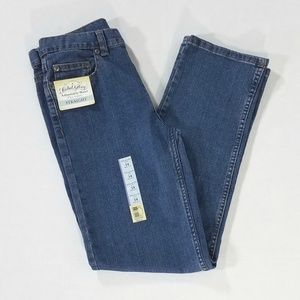 NWT Faded Glory Straight Leg Jeans Boys 14R